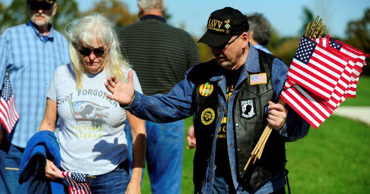 Memorial in Pleasant Prairie honors Vietnam War veterans