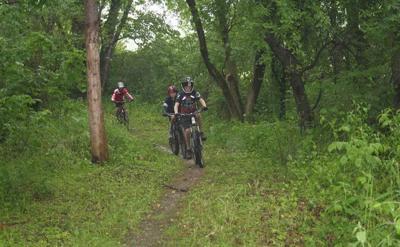 Super New bike trails dedicated in Silver Lake Park | News | kenoshanews.com WI-17