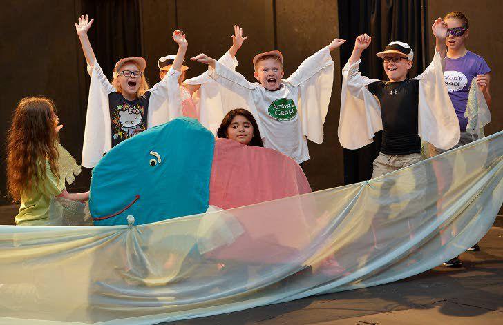 Drama camp reinterprets classic tales