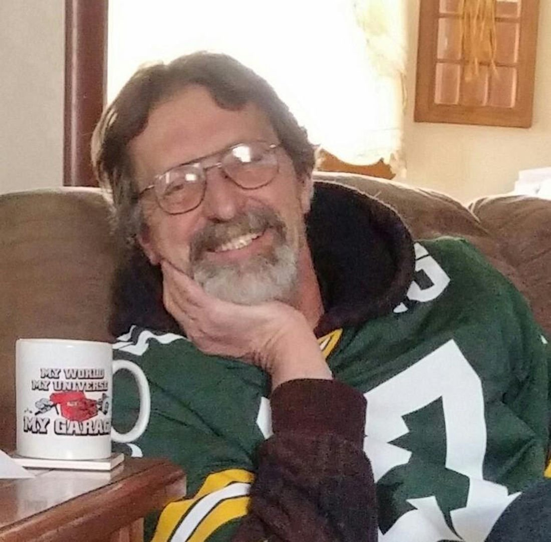 Tim in Packers shirt