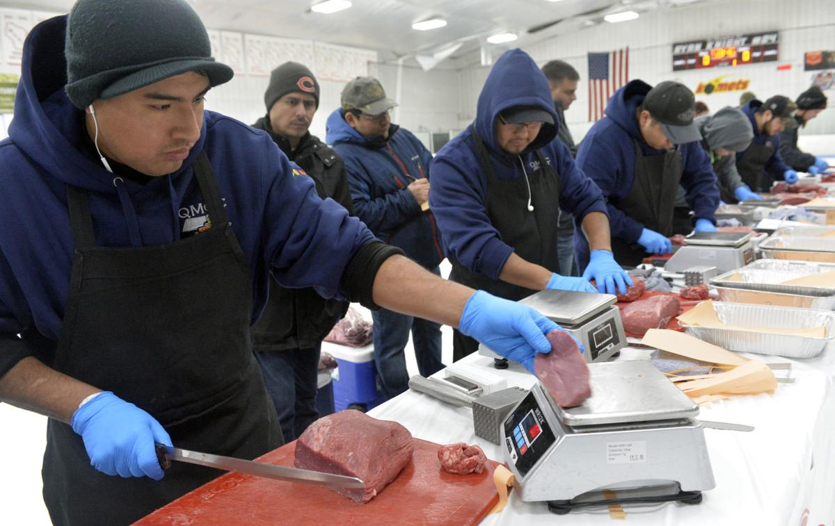MEAT CUTTING CONTEST
