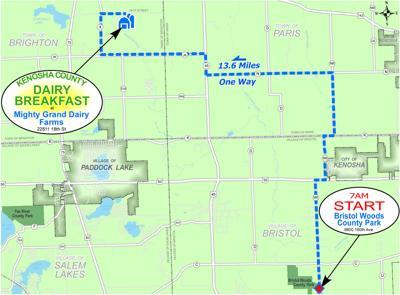 DairyAir map