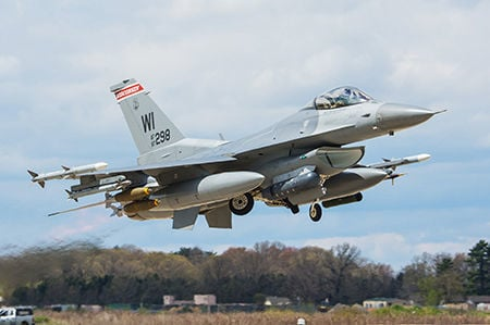 Wisconsin Air National Guard F-16