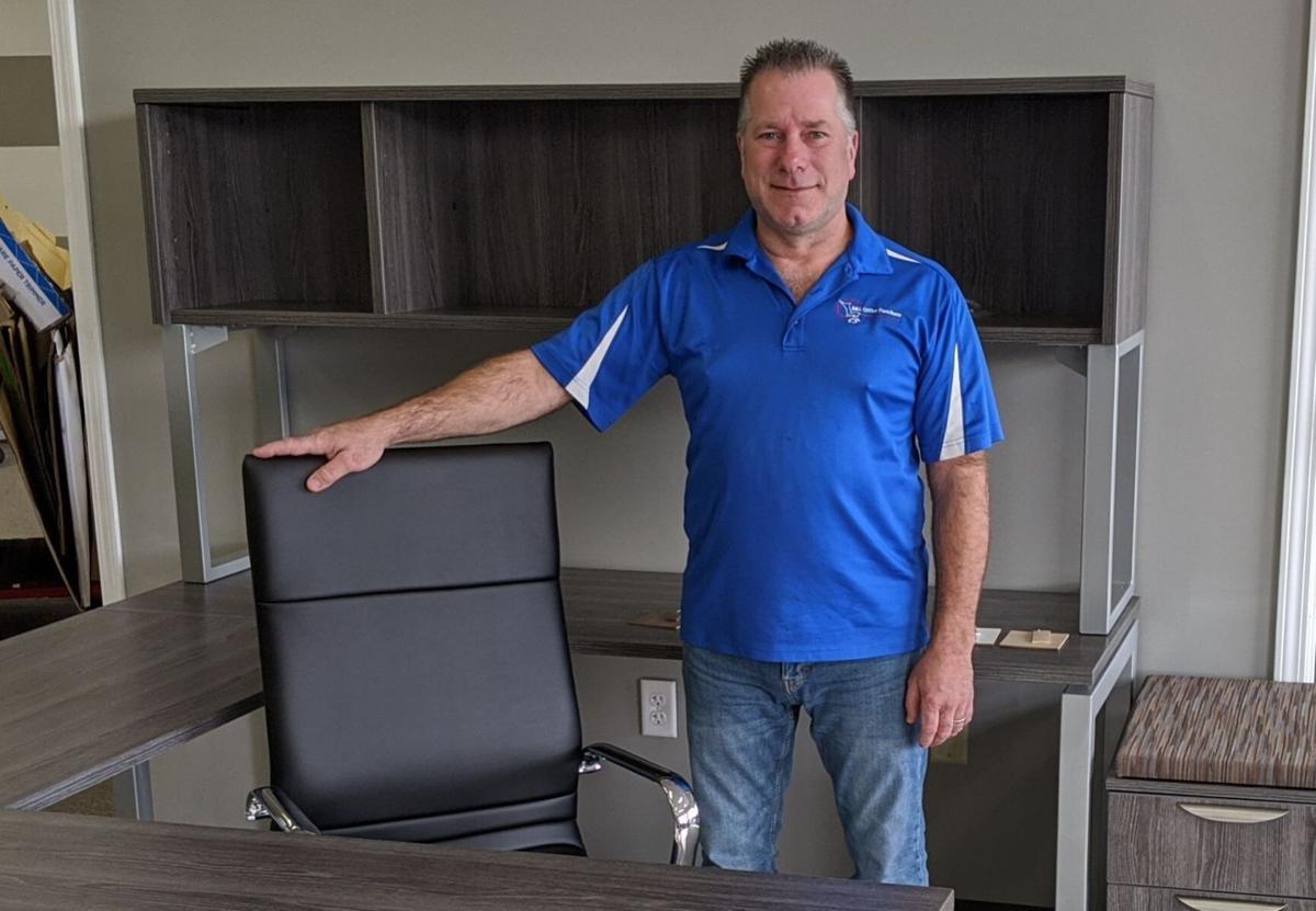 Scott Carpenter of B&L Office Furniture
