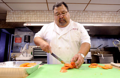 Machinist makes jump to caterer