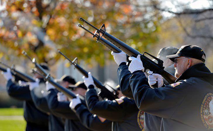 Ceremonies, programs mark Veterans Day today