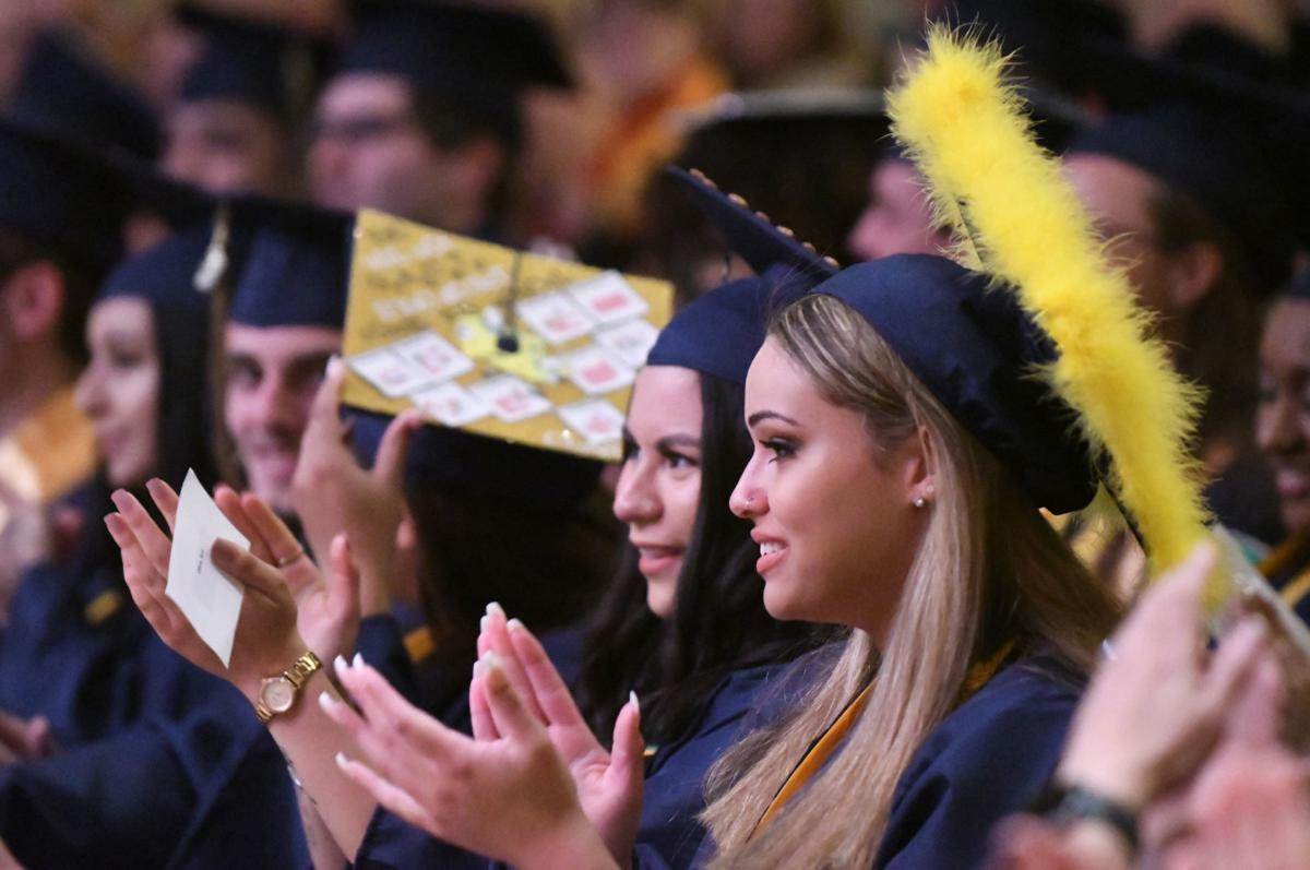 Harborside grads reflect on the past before stepping into