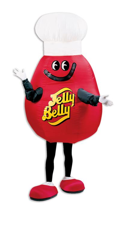 Jelly Belly mascot