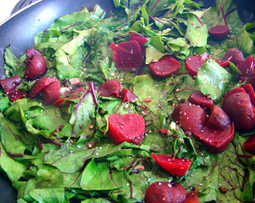 beets and greens
