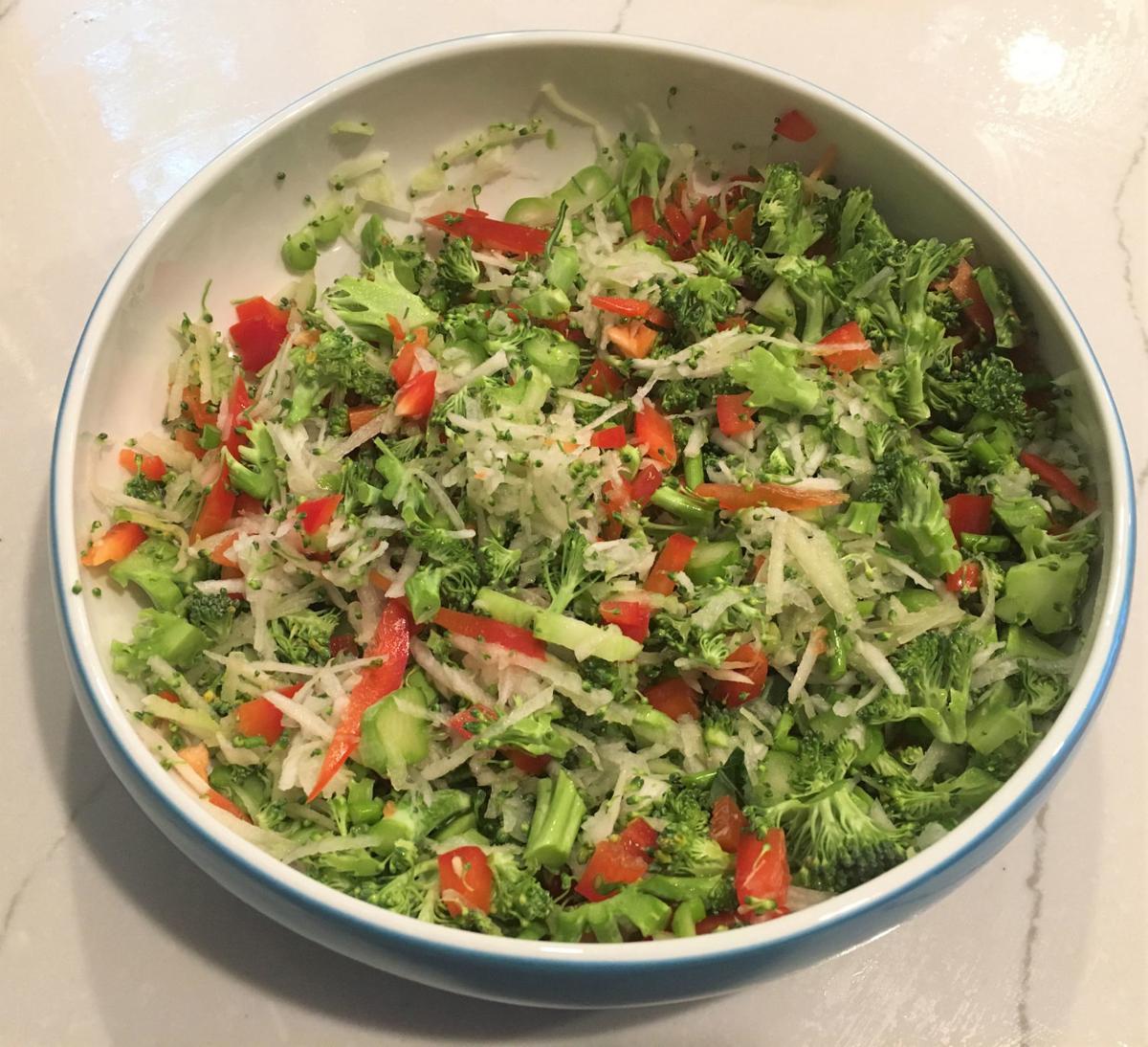 jerome-chopped salad base - broccoli, peppers, turnips.jpg