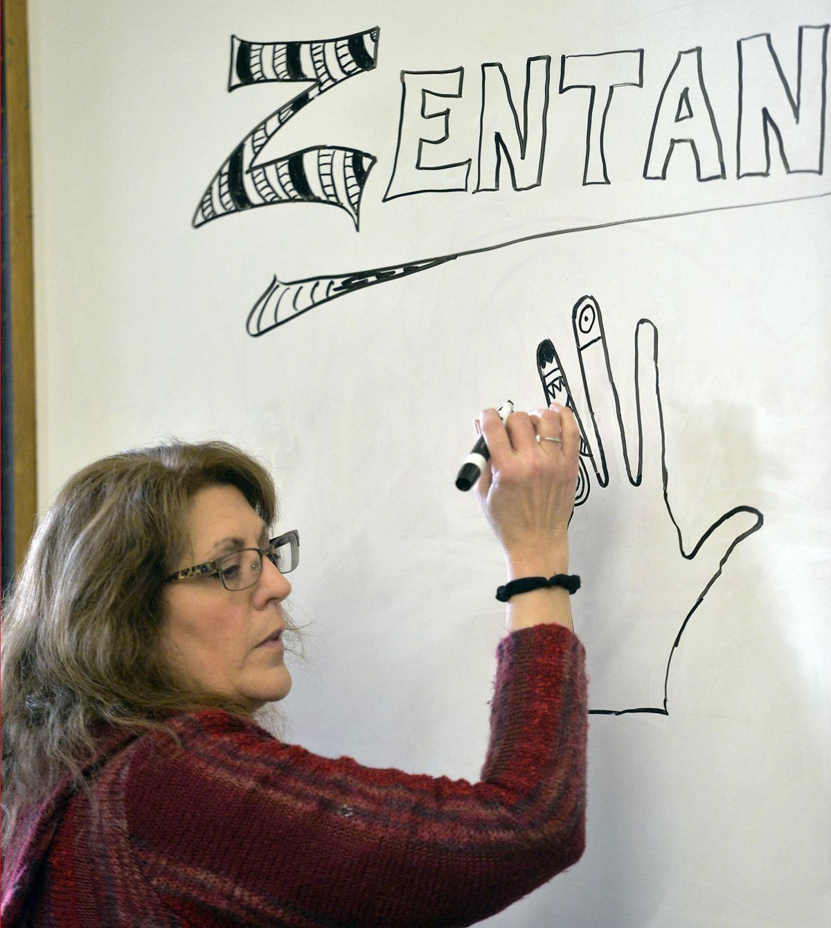 LIBRARY SALEM COMMUNITY ART CLASS