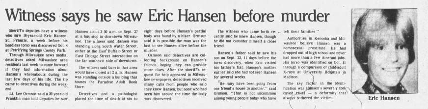 15 Nov 1983, Tue ·  Kenosha News (Kenosha, Wisconsin) ·  Page 1.pdf