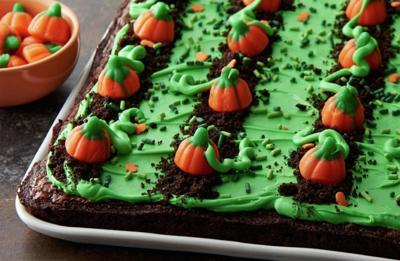 Recipe of the Day: Pumpkin Patch Brownies
