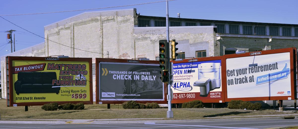 Digital billboards shine a light on Kenosha's sign ordinance