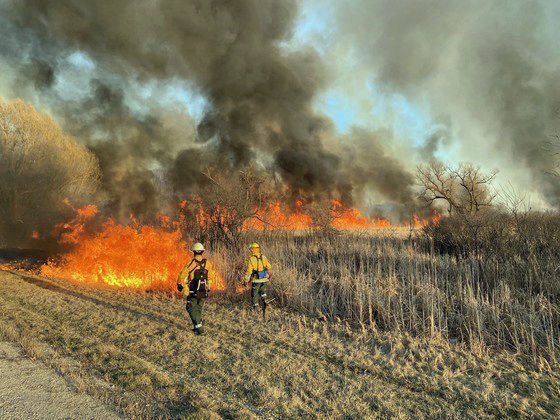 Menomonee wildfire