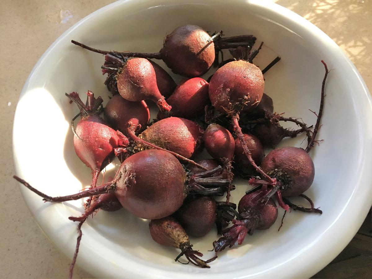 beets ready to bake