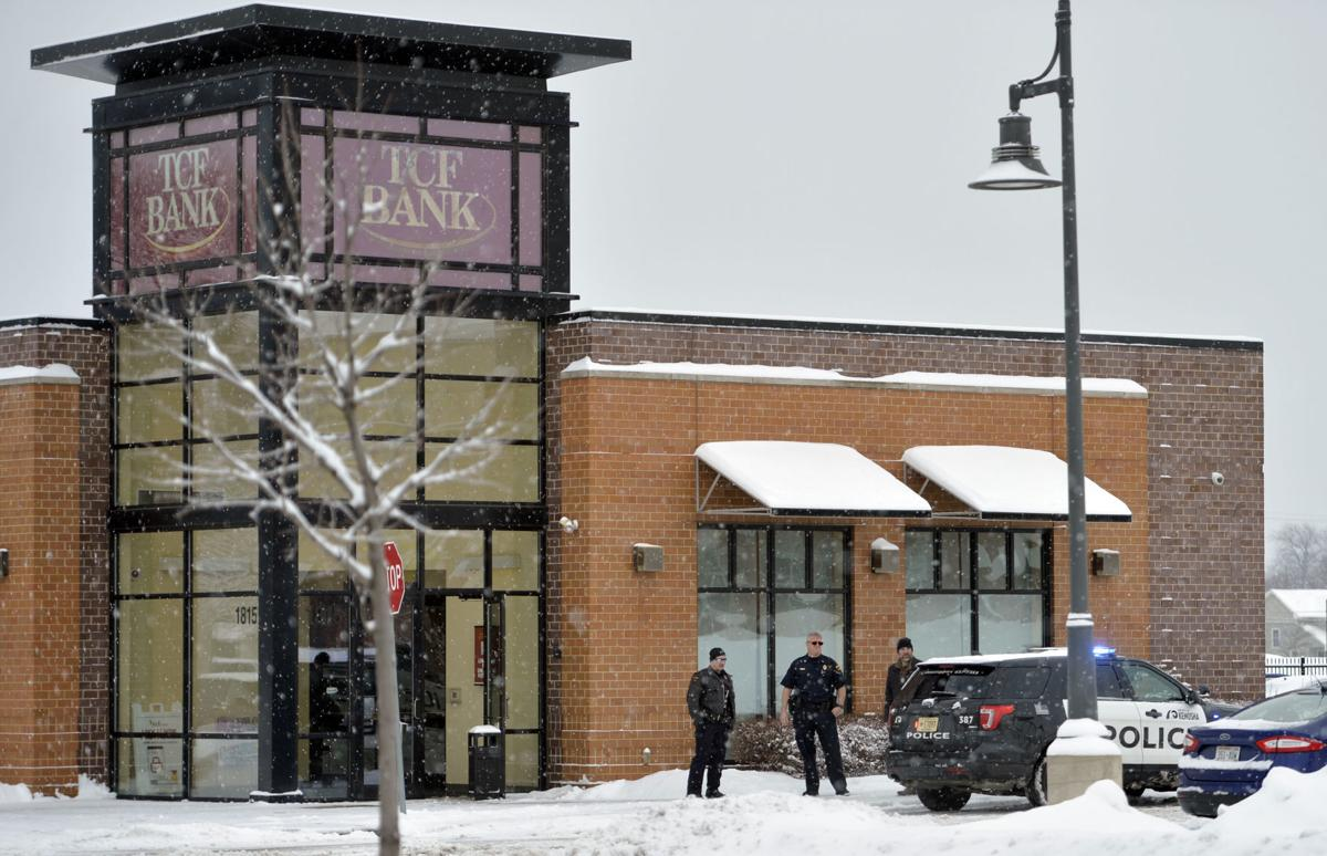 TCF Bank in Brass development robbed by two men with
