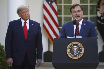 Mike Lindell and Trump