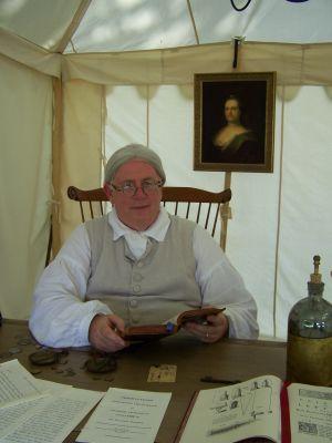 Re-enactor invests heavily in Benjamin Franklin