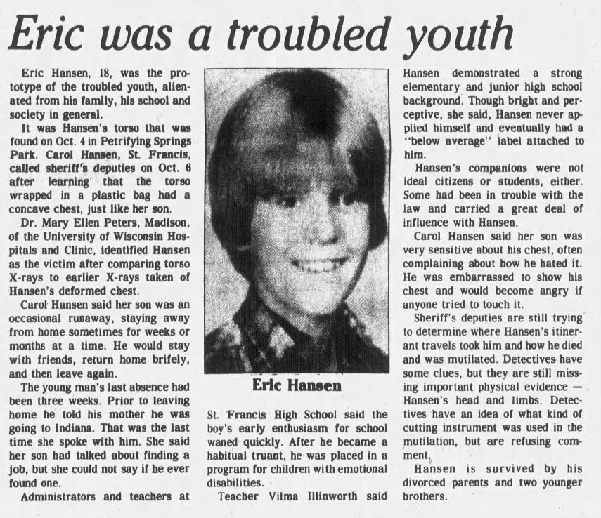 12 Oct 1983, Wed ·  Kenosha News (Kenosha, Wisconsin) ·  Page 1.pdf