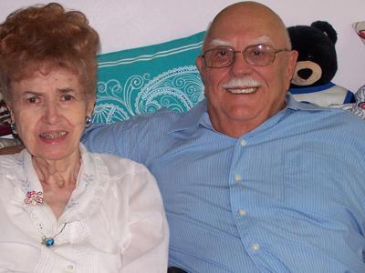 Shirley and Gary Pitts