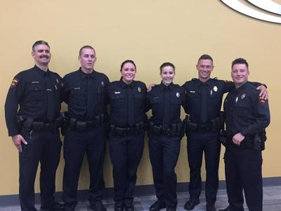 6 new officers join Kenosha Police Department