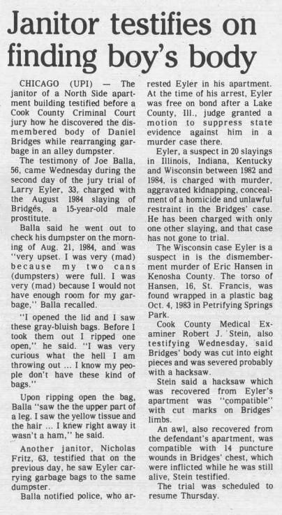 3 Jul 1986, Thu ·  Kenosha News (Kenosha, Wisconsin) ·  Page 33.pdf