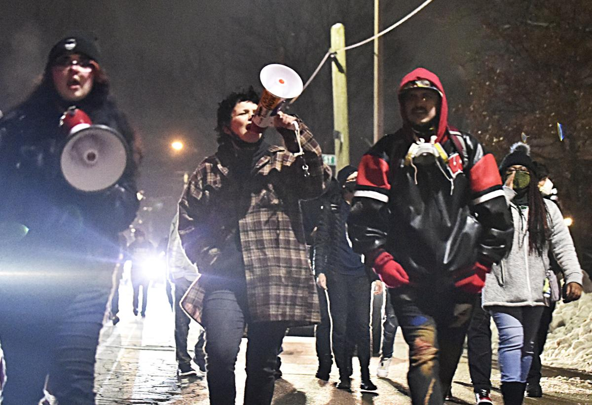 Protest after no charges in Jacob Blake shooting announced