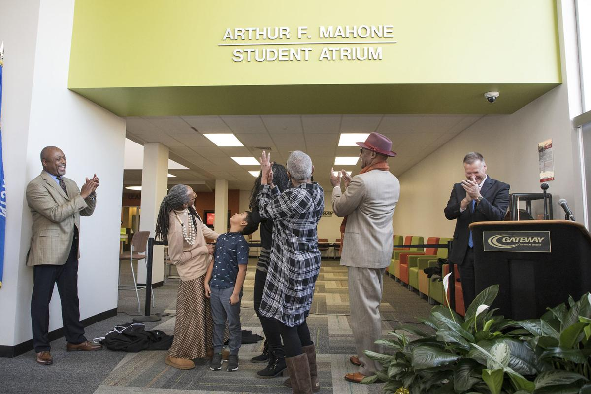 Arthur F. Mahone Student Atrium Dedication - November 8, 2019