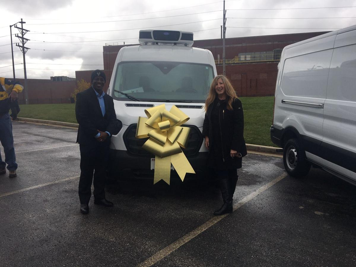 Van donated to Sharing Center
