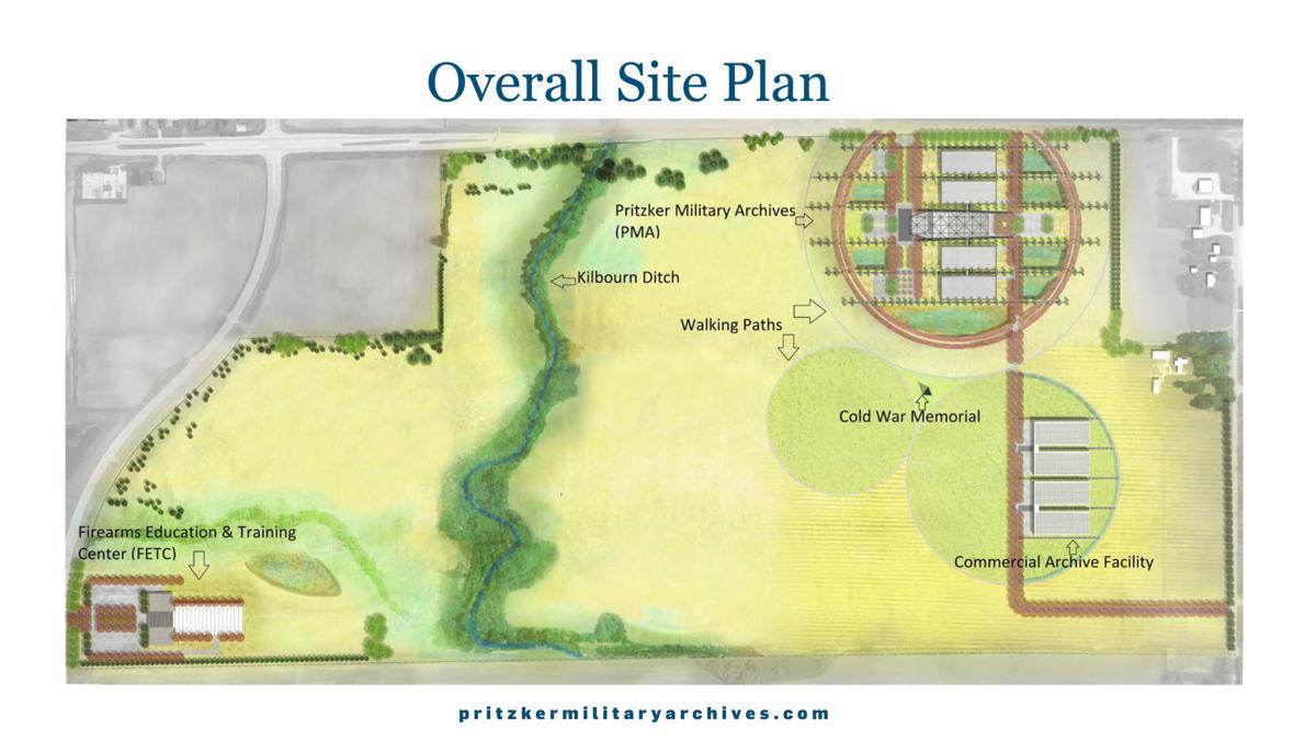 Pritzker site plan