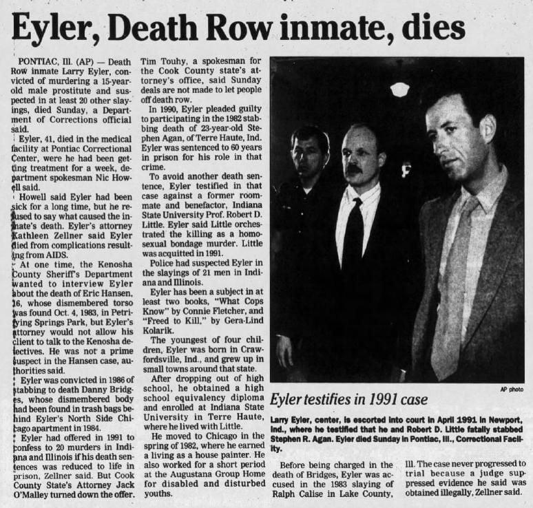 7 Mar 1994, Mon ·  Kenosha News (Kenosha, Wisconsin) ·  Page 27.pdf
