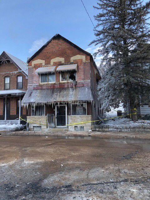 Fire Aftermath in Fountain City
