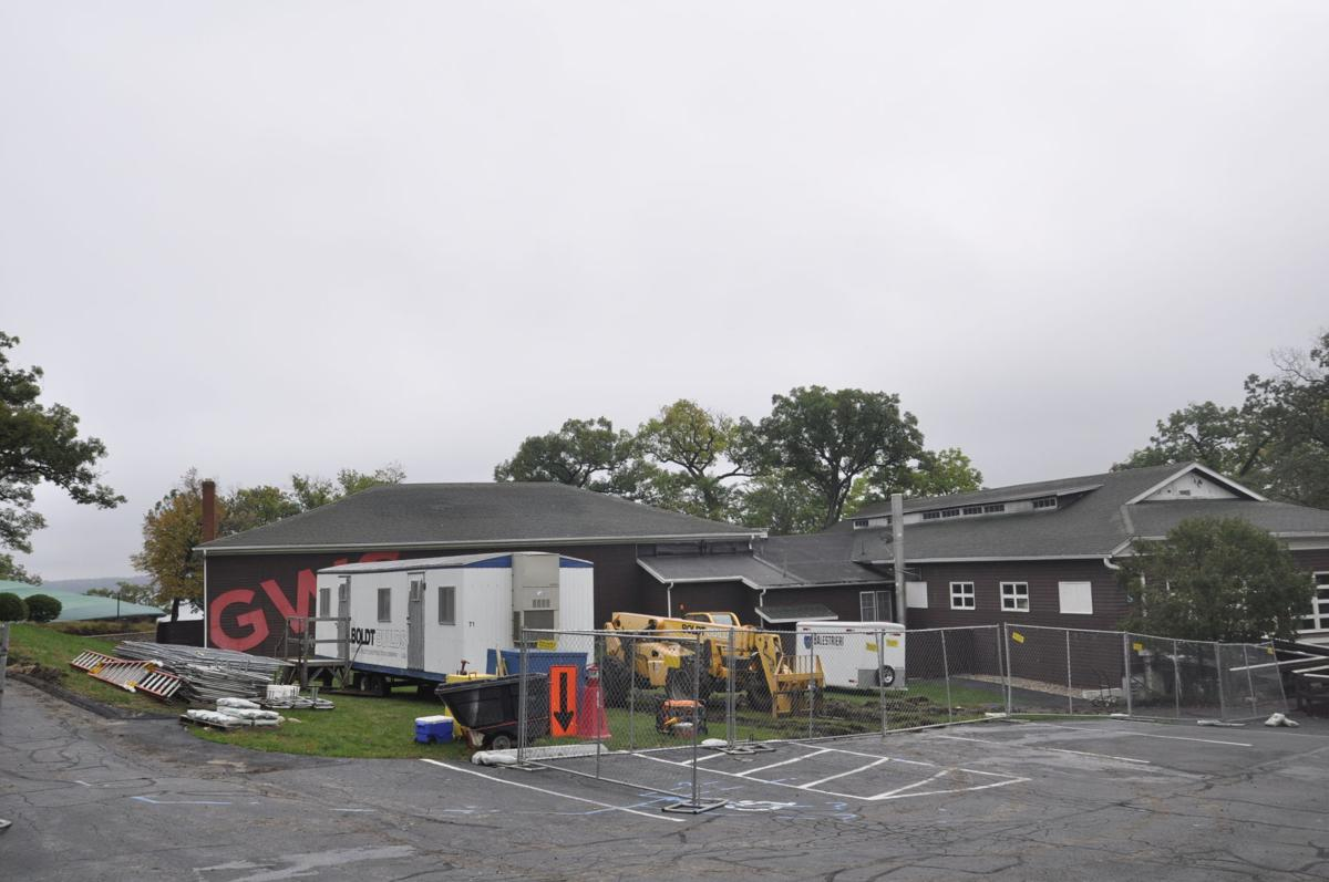 Boldt Construction at Lewis Hall