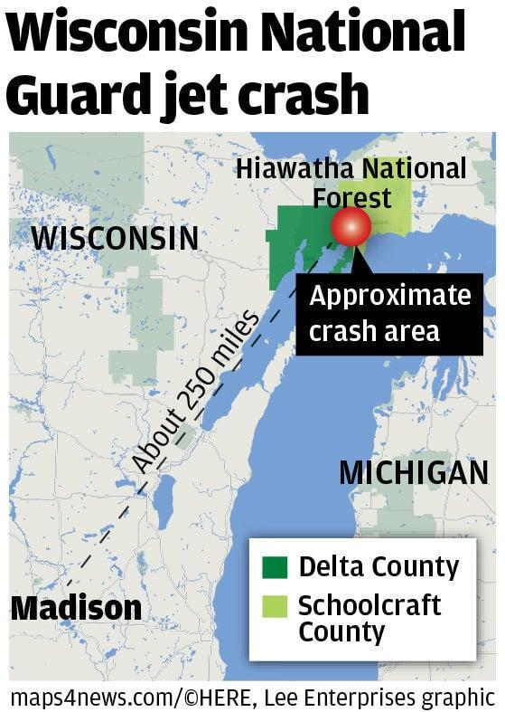 Jet Crash Map