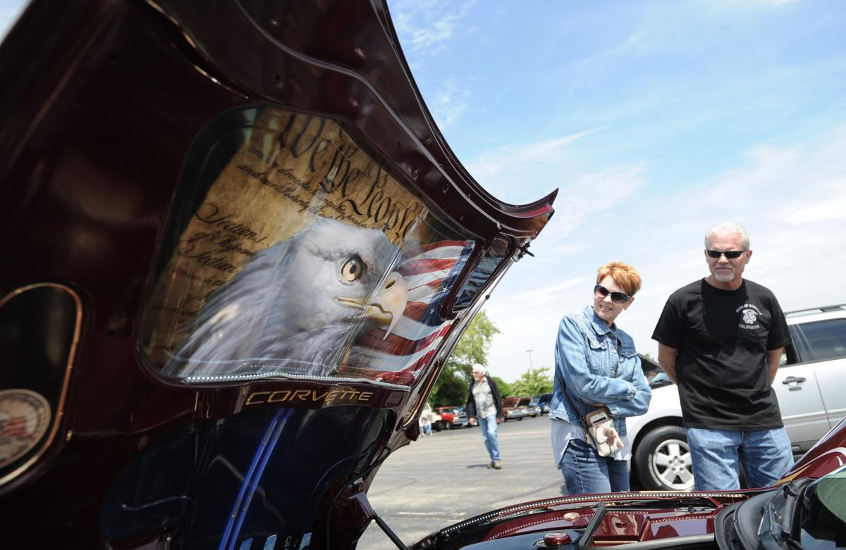 Annual car show features eclectic mix of vintage, contemporary