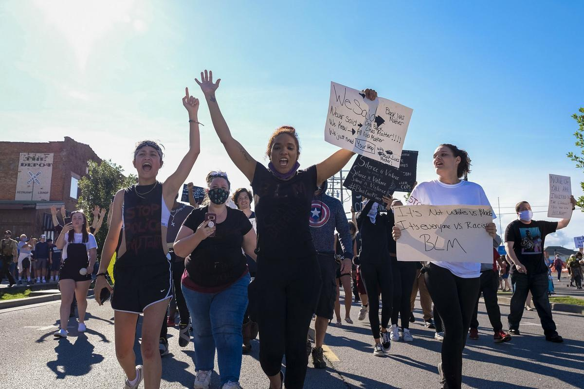 'Ain't No Negativity Allowed': In Anna, nearly 200 demonstrate against police brutality