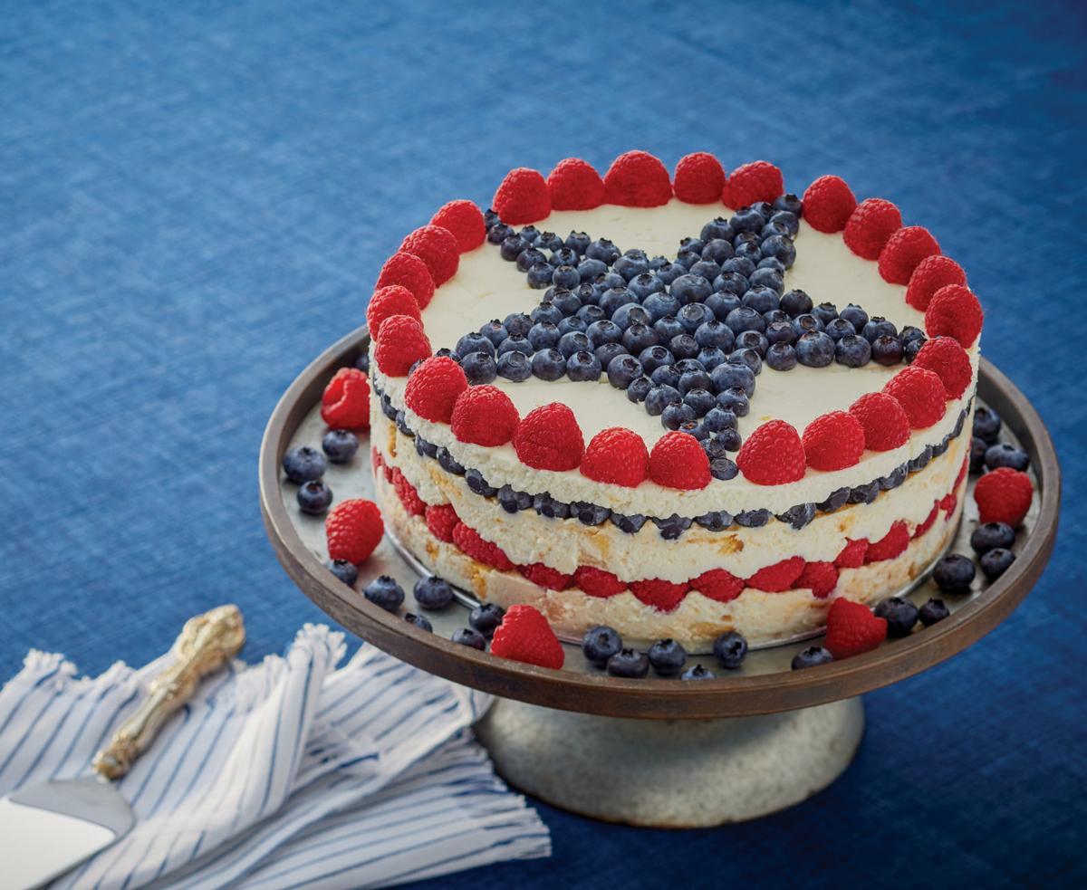 Patriotic torte