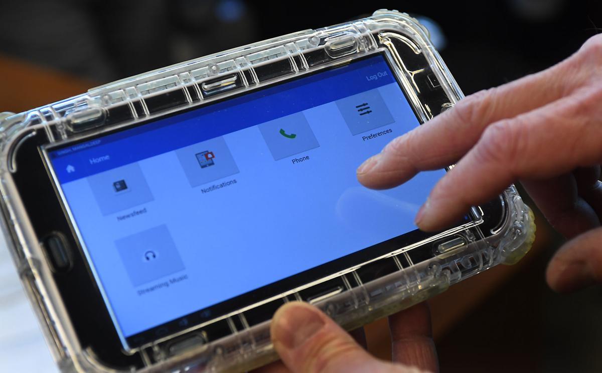 Digital tablets keep county inmates occupied, quieter