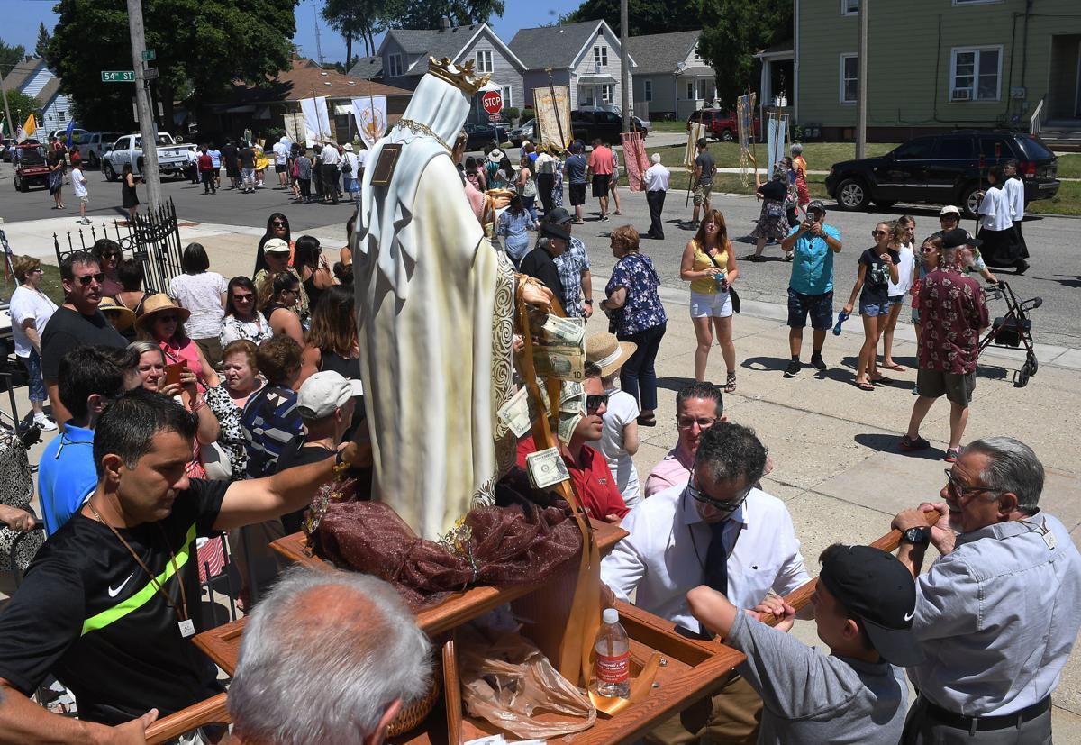 Mt. Carmel Procession 2018