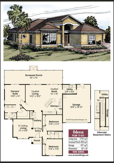 Home Plans: Odessa
