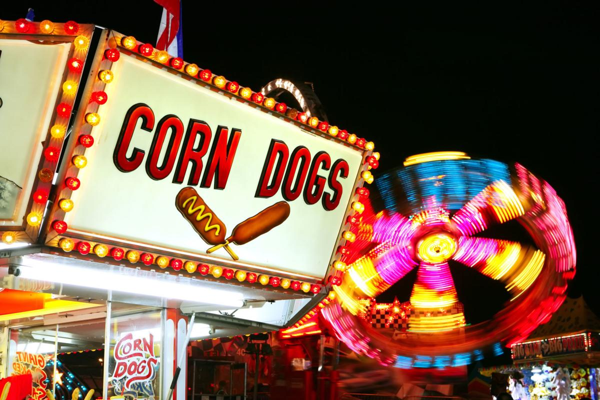 Carnival corn dogs