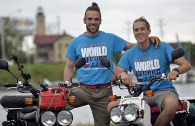 SCOOTER WORLD RECORD ATTEMPT