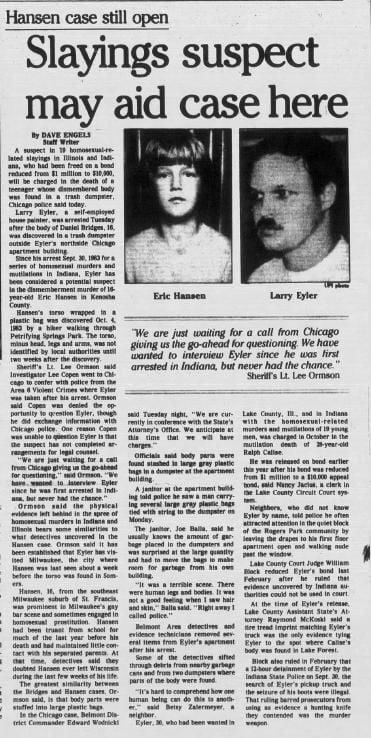 22 Aug 1984, Wed ·  Kenosha News (Kenosha, Wisconsin) ·  Page 1.pdf