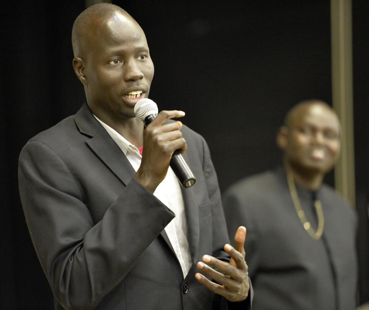 'Lost Boys of Sudan' visit Bullen Middle School