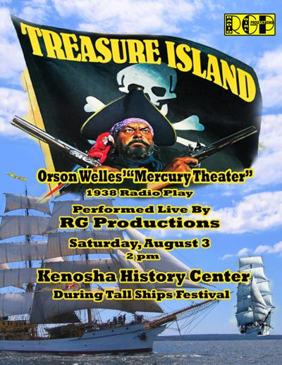 Treasure Island poster RG Productions