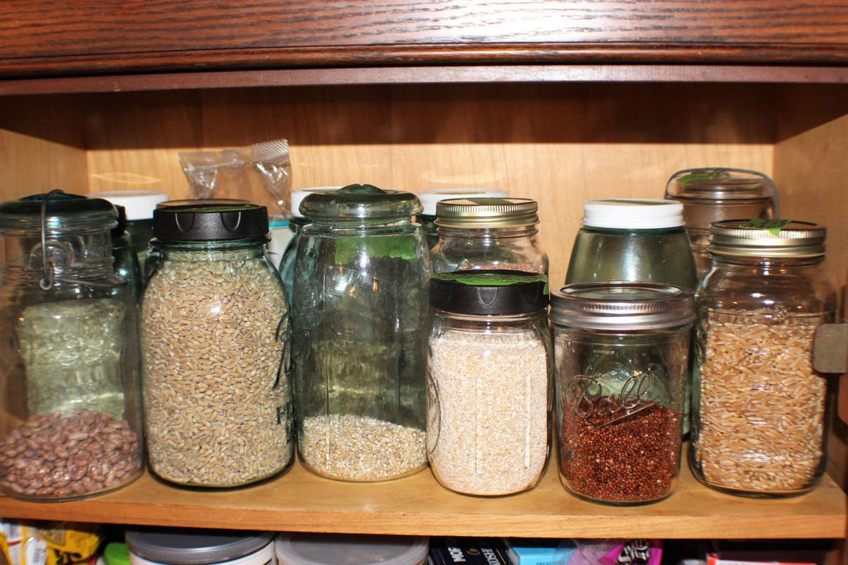 storing in glass canning jars kate jerome