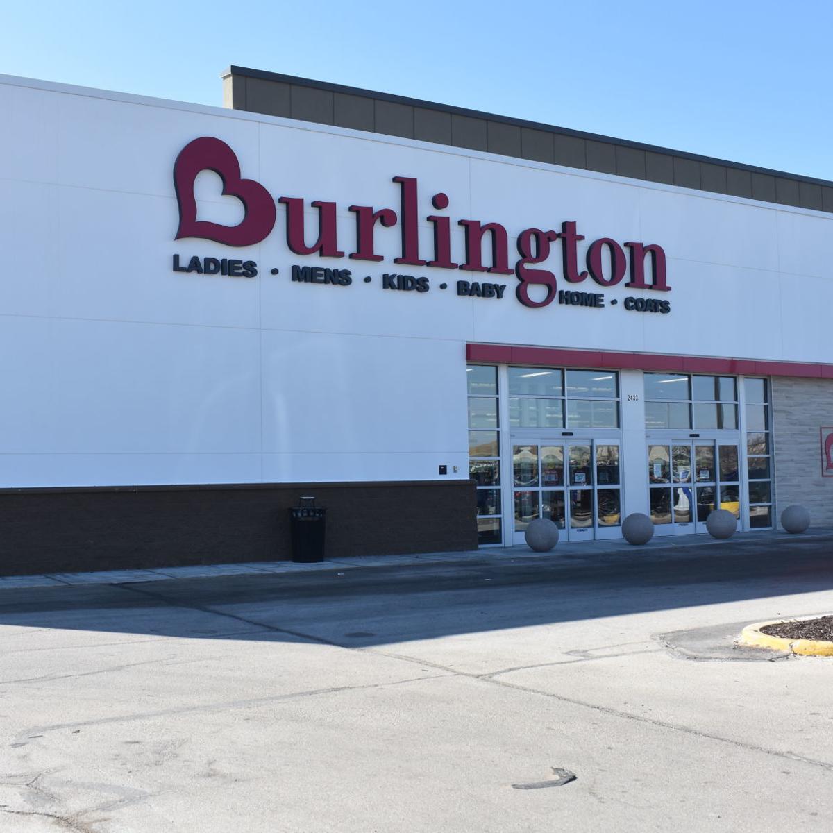 Burlington Coat Factory reopens at