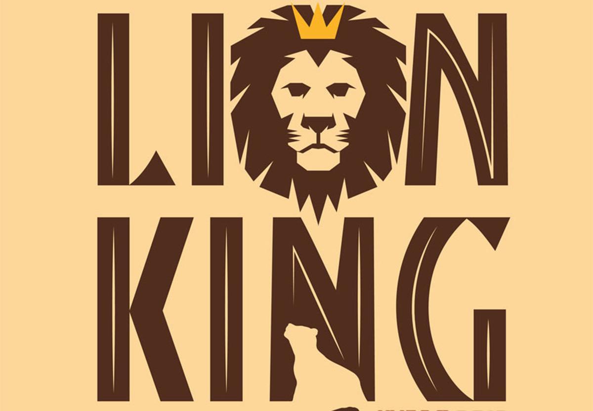 Lion King Jr poster