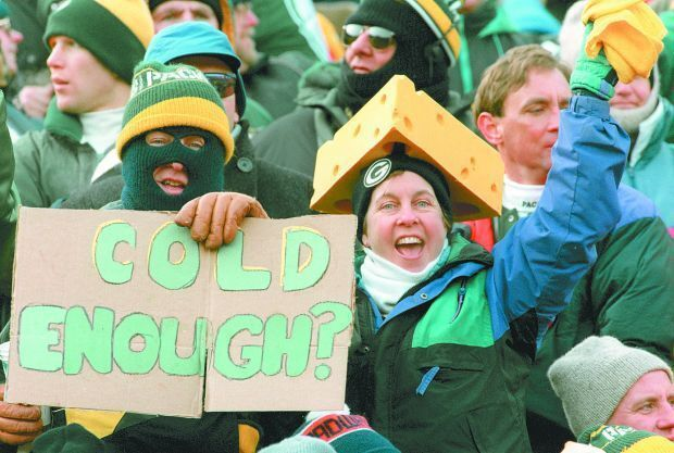 The coldest games in Green Bay Packers history
